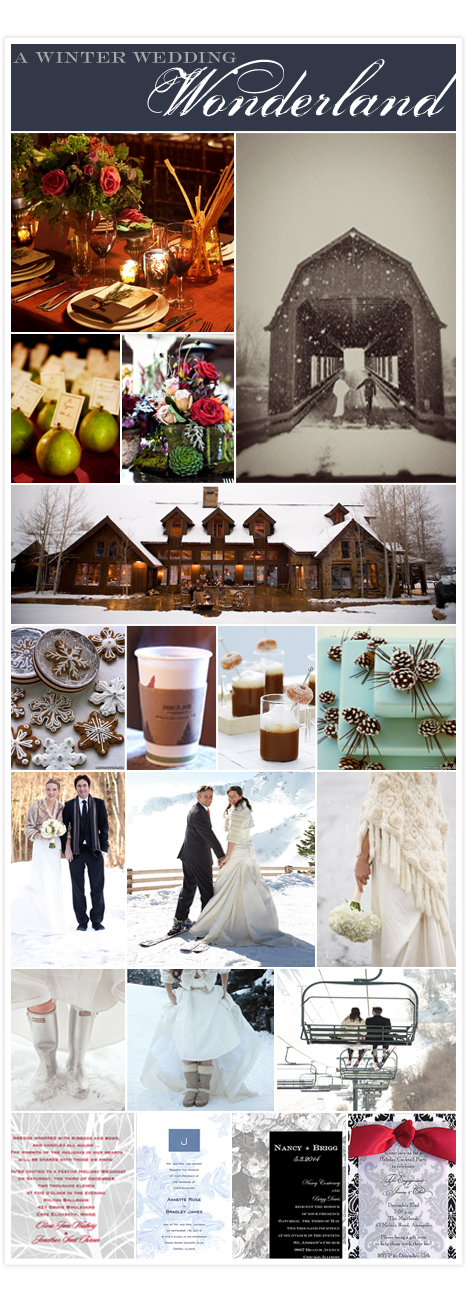 Winter wedding copy