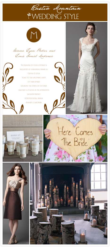 Rustic wedding copy