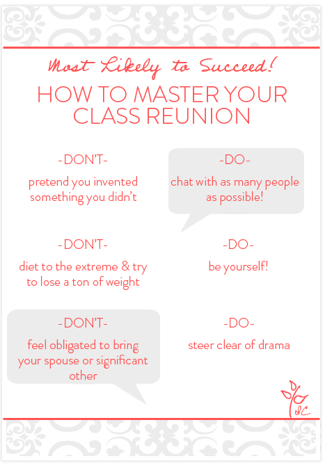 Class Reunion Dos and Donts Invitation Consultants Blog