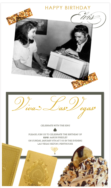 Happy birthday to the king celebrating elvis style invitation happy birthday to the king celebrating elvis style invitation consultants blog wedding and party inspiration filmwisefo