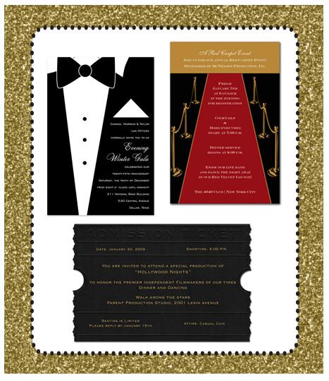 red carpet party invitation wording Carpet Ideas – Oscar Party Invitations