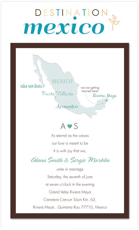 Mexico Destination Wedding Invitation Consultants Blog Wedding