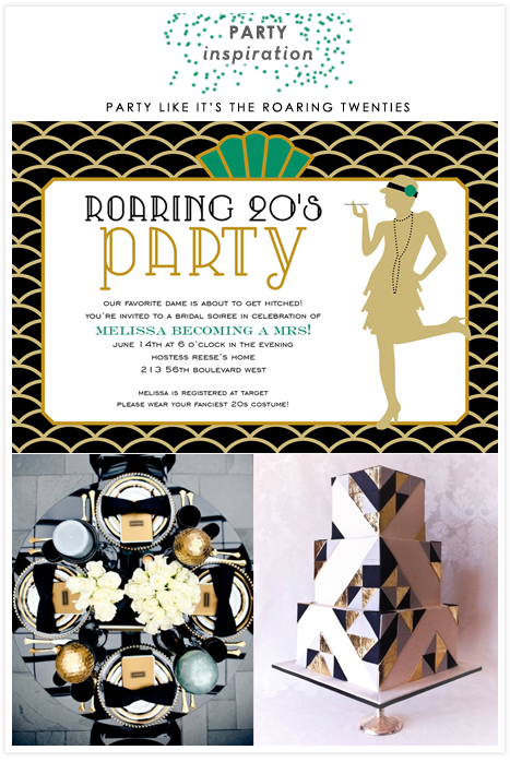 1920s Roaring Twenties Art Deco Gatsby Party