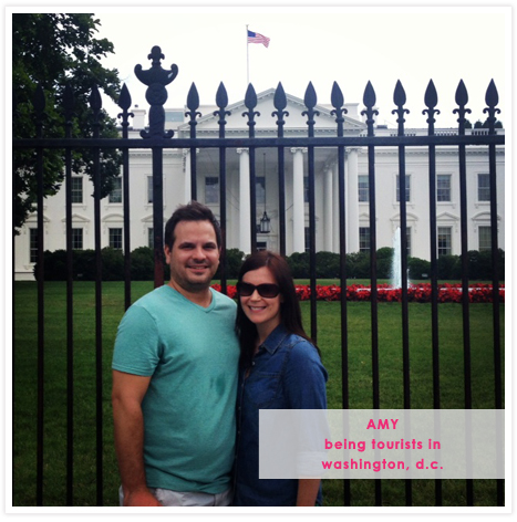 Amy's Instagram - being tourists in Washington, DC