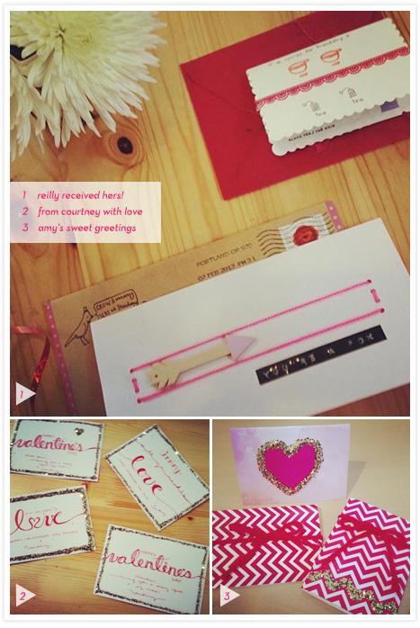 Valentine Exchange #handmadeval