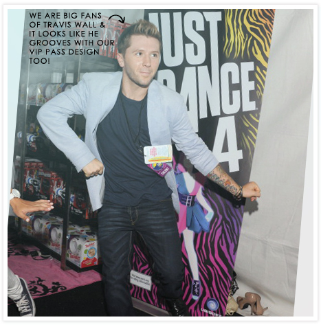 Behind The Scenes_Travis Wall Teen Choice Awards 2012