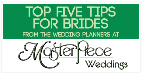 Wedding planner advice