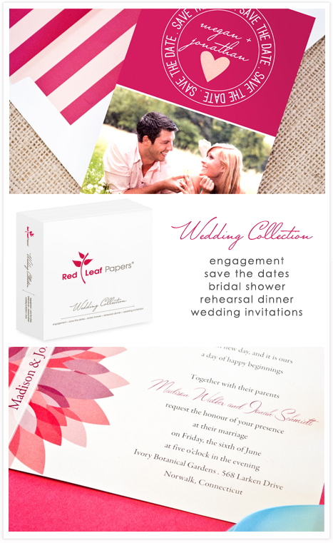 Red Leaf Papers Wedding Collection