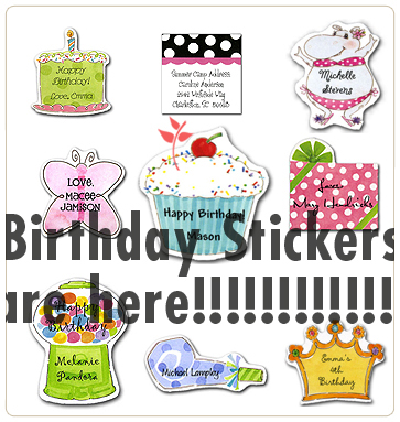 Birthdaystickers