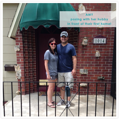 Amy's Instagram - she & Vince are new homeowners!