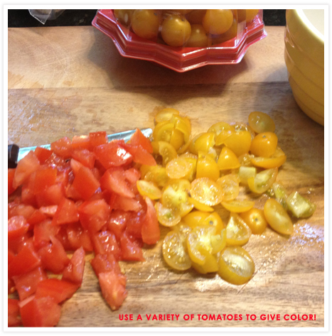 Food Feature_Tomatoes for Bruschetta