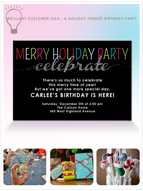 InvitationIdea_HolidayBirthdayParty