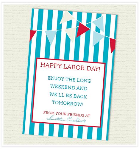 Happy Labor Day Invitation Consultants Blog Wedding And Party