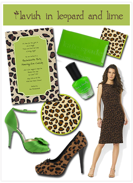 Leopard and lime