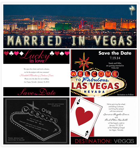 Married in Vegas - Invitation Consultants Blog - Wedding and Party ...