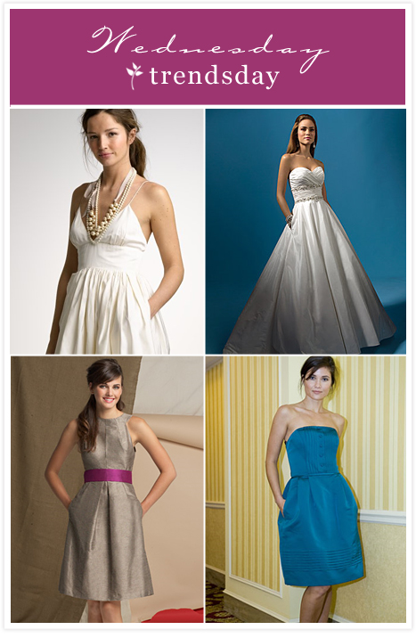 Pocket Wedding Dresses