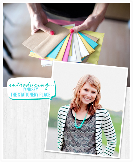 Lyndsey of the Stationery Place blog!