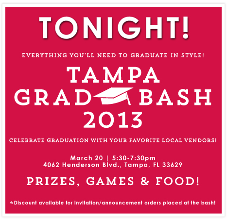 Tampa Grad Bash - March 20
