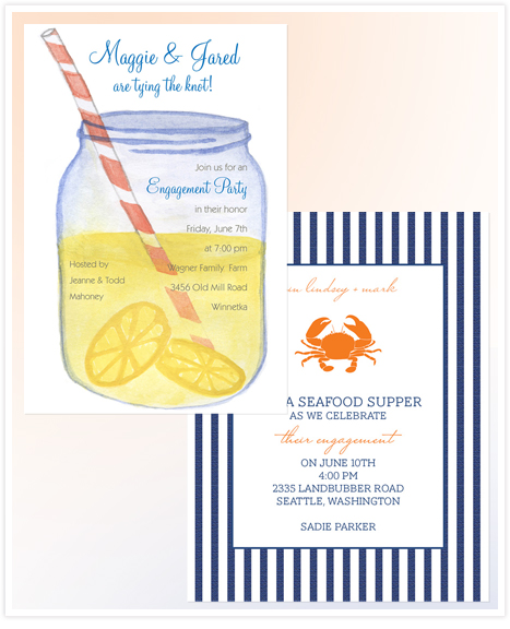 Sip n See - summer party invitations