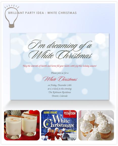 Idea - White Christmas