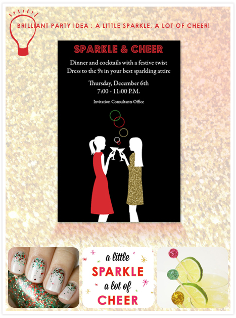 Idea - Sparkle & Cheer