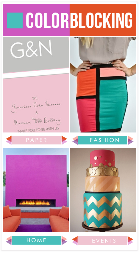 Color Block Trend