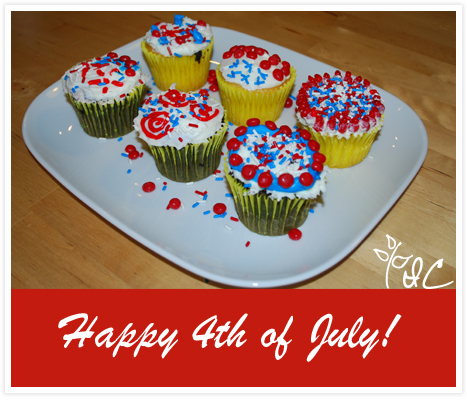 July 4th Cupcakes copy