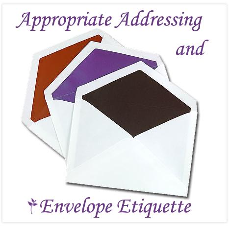 Wedding Gift Envelope Wording : Envelope etiquette